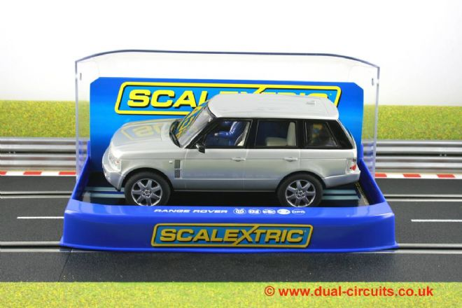 Scalextric C2819 Range Rover Silver Road Car